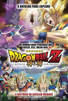 Dragon Ball Z - A Batalha dos Deuses BluRay Filme Torrent Download