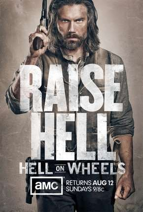 Hell On Wheels - 2ª Temporada Série Torrent Download
