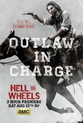 Hell on Wheels - 3ª Temporada Série Torrent Download