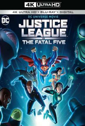 Liga da Justiça vs. os Cinco Fatais 4K Filme Torrent Download