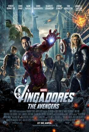 Os Vingadores - The Avengers BluRay Filme Torrent Download