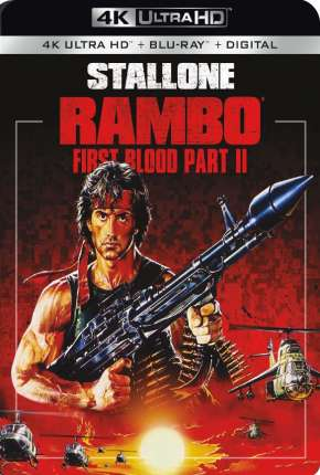 Rambo 2 - A Missão 4K UHD Filme Torrent Download