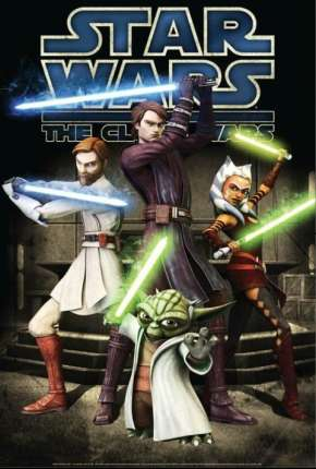 Star Wars - A Guerra dos Clones - Todas as Temporadas Desenho Torrent Download