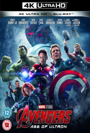 Vingadores - Era de Ultron 4K UHD Filme Torrent Download