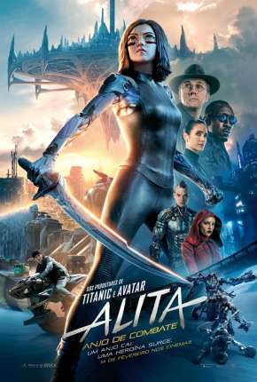 Alita - Anjo de Combate Filme Torrent Download