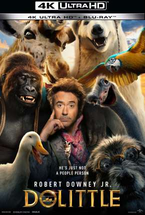 As Aventuras do Dr. Dolittle 4K Filme Torrent Download