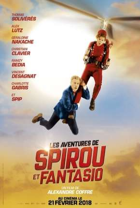 As Fantásticas Aventuras de Spirou e Fantásio Filme Torrent Download