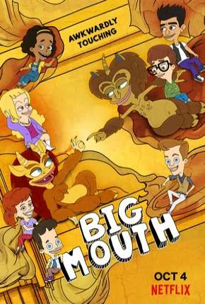 Big Mouth - 3ª Temporada Completa Desenho Torrent Download