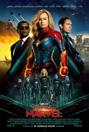 Capitã Marvel Filme Torrent Download