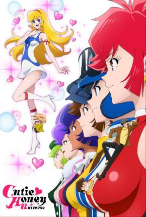 Cutey Honey Universe - Legendado Anime Torrent Download
