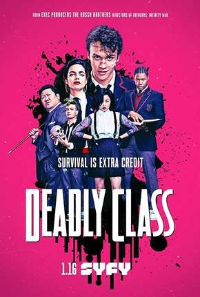 Deadly Class - 1ª Temporada Completa Série Torrent Download