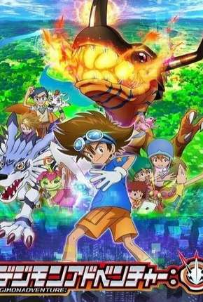 Digimon Adventure - 1ª Temporada - Legendado Anime Torrent Download