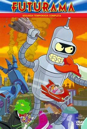 Futurama - 2ª Temporada Completa Desenho Torrent Download