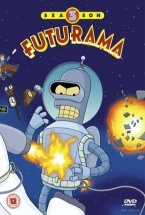 Futurama - 3ª Temporada Desenho Torrent Download