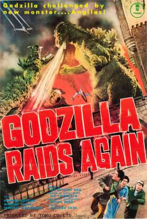Godzilla Contra-Ataca - Legendado Filme Torrent Download