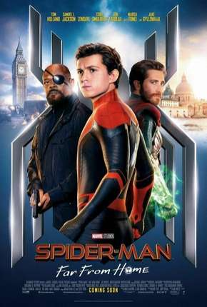 Homem-Aranha - Longe de Casa - HDRIP Legendado Filme Torrent Download