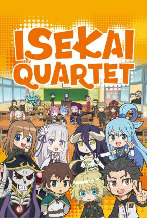 Isekai Quartet - Legendado Anime Torrent Download