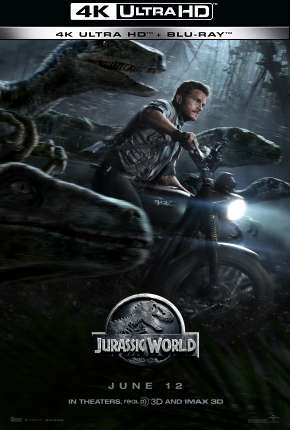 Jurassic World - O Mundo dos Dinossauros - 4K Filme Torrent Download