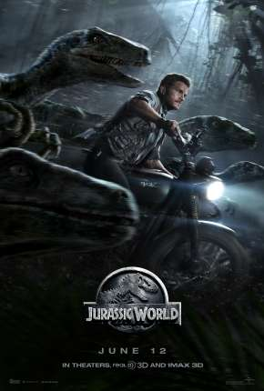 Jurassic World - O Mundo dos Dinossauros - IMAX OPEN MATTE Filme Torrent Download