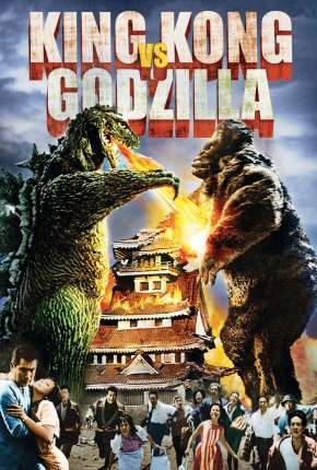 King Kong vs. Godzilla - Legendado Filme Torrent Download