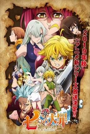 Nanatsu no Taizai - Kamigami no Gekirin - 3ª Temporada Legendada Anime Torrent Download