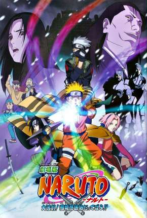 Naruto O Filme - A Grande Missão! Salvar a Princesa da Neve Filme Torrent Download