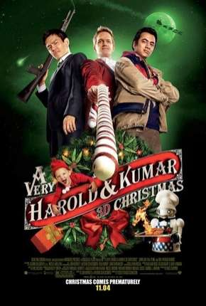 O Natal Maluco de Harold e Kumar Filme Torrent Download