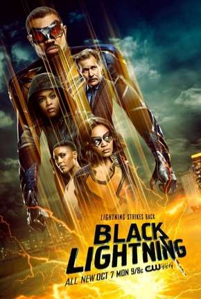 Raio Negro - Black Lightning 3ª Temporada Legendada Série Torrent Download