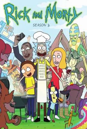 Rick and Morty - 2ª Temporada Completa Desenho Torrent Download