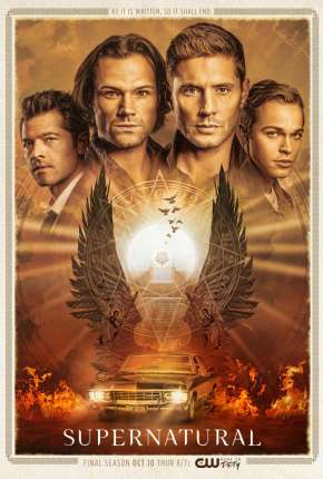Sobrenatural - Supernatural 15ª Temporada Legendada Série Torrent Download