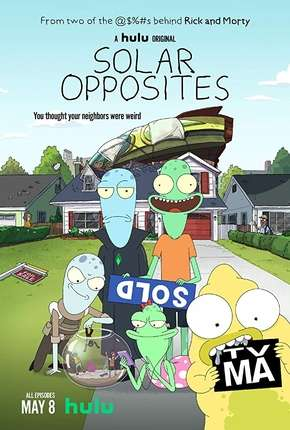 Solar Opposites - 1ª Temporada Completa - Legendado Desenho Torrent Download