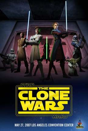 Star Wars - The Clone Wars  - 3ª Temporada Completa Desenho Torrent Download