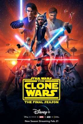 Star Wars - The Clone Wars - 7ª Temporada Desenho Torrent Download