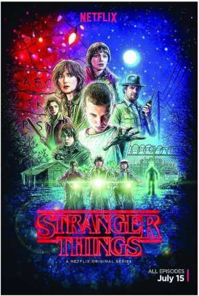 Stranger Things - 1ª Temporada HD Série Torrent Download
