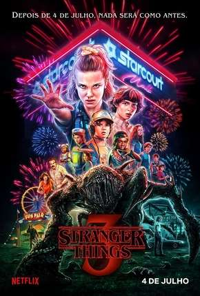 Stranger Things - 3ª Temporada Completa Netflix Série Torrent Download