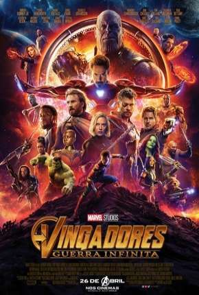 Vingadores - Guerra Infinita - 60 FPS Filme Torrent Download