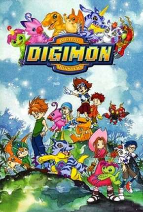 Digimon 1ª até 5ª Temporada Anime Torrent Download