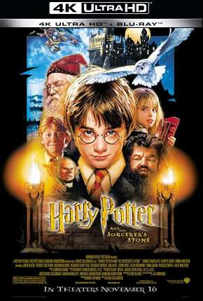 Harry Potter e a Pedra Filosofal - Versão do Cinema 4K BluRay Filme Torrent Download