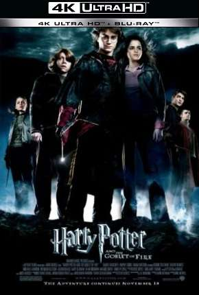 Harry Potter e o Cálice de Fogo - Versão do Cinema 4K BluRay Filme Torrent Download