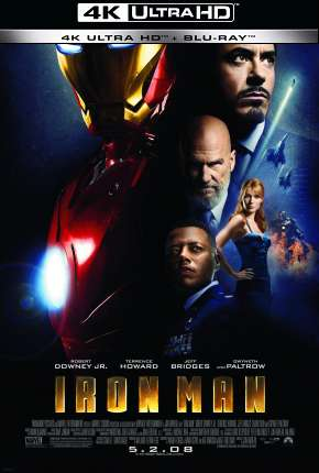 Homem de Ferro - Trilogia - 4K Filme Torrent Download