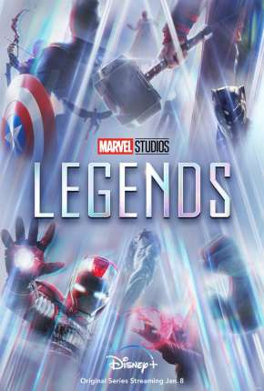 Lendas da Marvel - 1ª Temporada Legendada Série Torrent Download