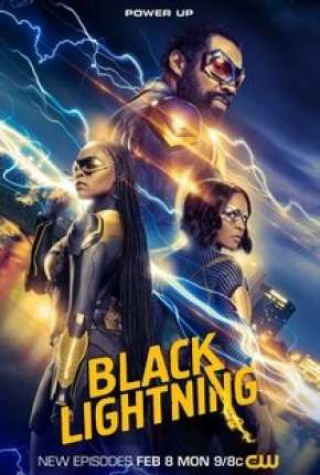 Raio Negro - Black Lightning 4ª Temporada Legendada Série Torrent Download