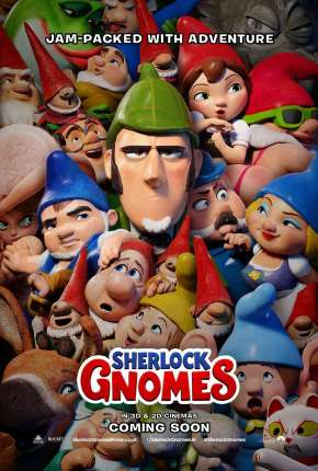 Sherlock Gnomes e o Mistério do Jardim Filme Torrent Download