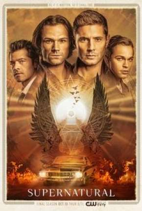 Supernatural - Sobrenatural 15ª Temporada Completa Série Torrent Download
