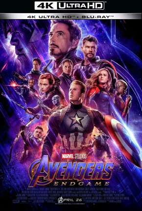 Vingadores - Ultimato - 4K Filme Torrent Download